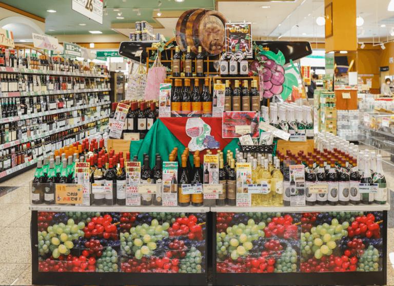 いちやまマート採用サイト ワインは県産も輸入も品揃え豊富